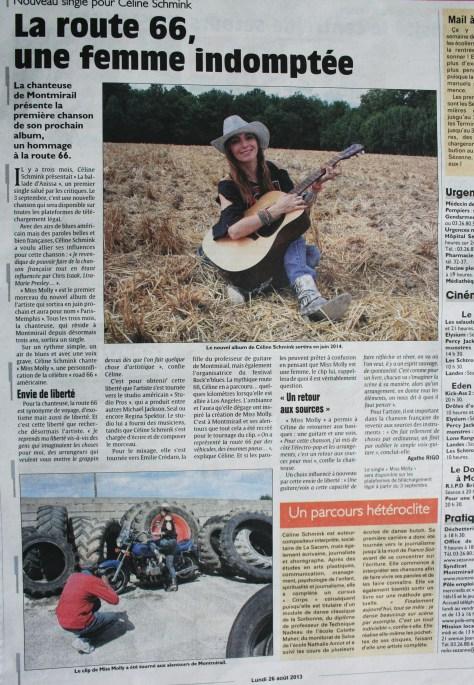 Céline Schmink Union 26/08/13