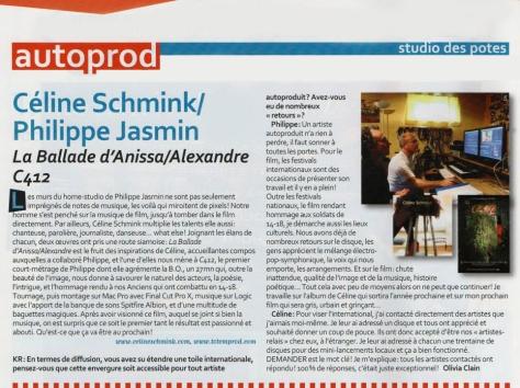 Céline Schmink Keyboard KR magazine