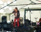 Céline Schmink au Festival Rock de Corrobert