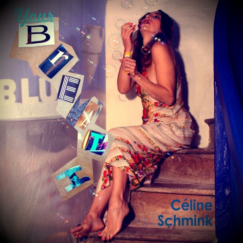 pochette Céline Schmink Single Your breath