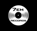 7Em Records - Logo - 2014 - Fond noir - HD